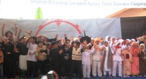 ini dia pasukan drama musikal Aroud the World Gemilang Mutafannin