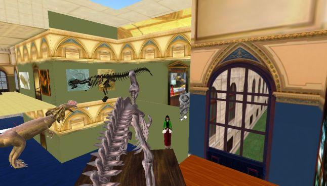 berkunjung ke Dinosaur museum Vienna